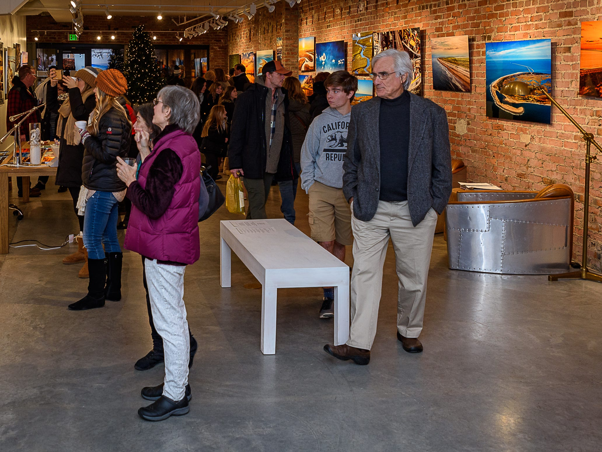 At Altitude Gallery is always a popular spot during Festive Fridays in Cape Charles.