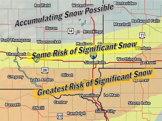 South Dakota weather winter storm watch