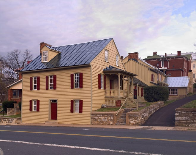 Trotter Tavern exterior at 213 N. Augusta St. in Staunton. Owners, Bill and Kathy Frazier of Frazier Associates.