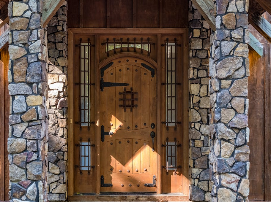 176 Caldwell Lane in Fishersville is an Aspen-style lodge for sale for $790,000 with five bedrooms and 4 and a half bathrooms with 7,559 square feet.