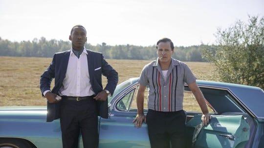 "Mahershala Ali,  right, and Viggo Mortensen co-star in ""Green Book."""