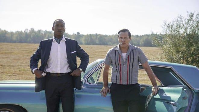 """Mahershala Ali (right) and Viggo Mortensen co-star in """"The Green Book."""""""