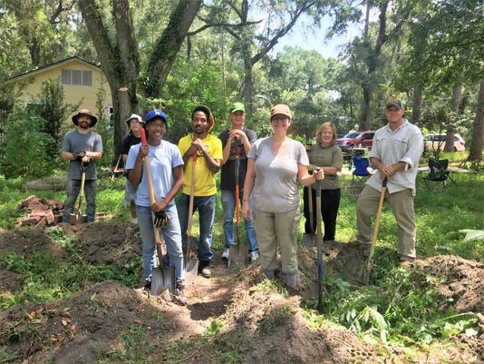 Class Photo After A Workshop On Permaculture Kitchen Garden Design Summer 2018 Photo By Era Boyd