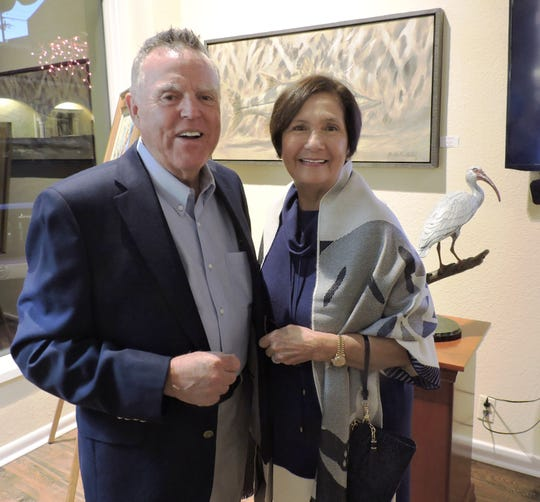 """Blaise and Pat DeAloia attended""""An Evening of Sinatra and Motown"""" featuring Landau Eugene MurphyJr."""