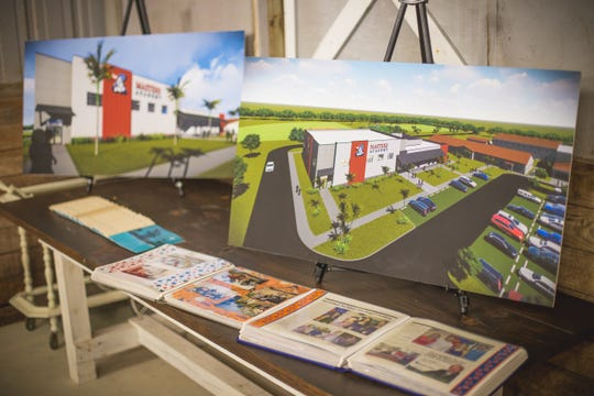 Master's Academy recently announced plans to build a new $5.2 million gymnasium on its campus at 1105 58th Ave., Vero Beach.