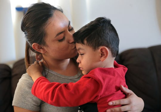 Carla Nava's son Gael Canizales is asking for a new kidney for Christmas this year. The 4-year-old was shot while dining at an Applebee's in Juarez in September damaging his only good kidney and damaging his spine to the point he can no longer walk.
