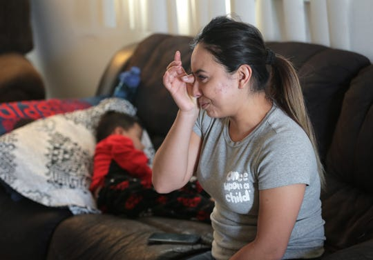 Carla Nava's son Gael Canizales is asking for a new kidney for Christmas this year. The 4-year-old was shot while dining at an Applebee's in Juarez in September damaging his only good kidney and his spine to the point he can no longer walk.