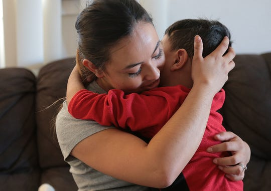 Carla Nava's son Gael Canizales is asking for a new kidney for Christmas this year. The four-year-old was shot while dining at an Applebee's in Juarez in September damaging his only good kidney and damaging his spine to the point he can no longer walk.