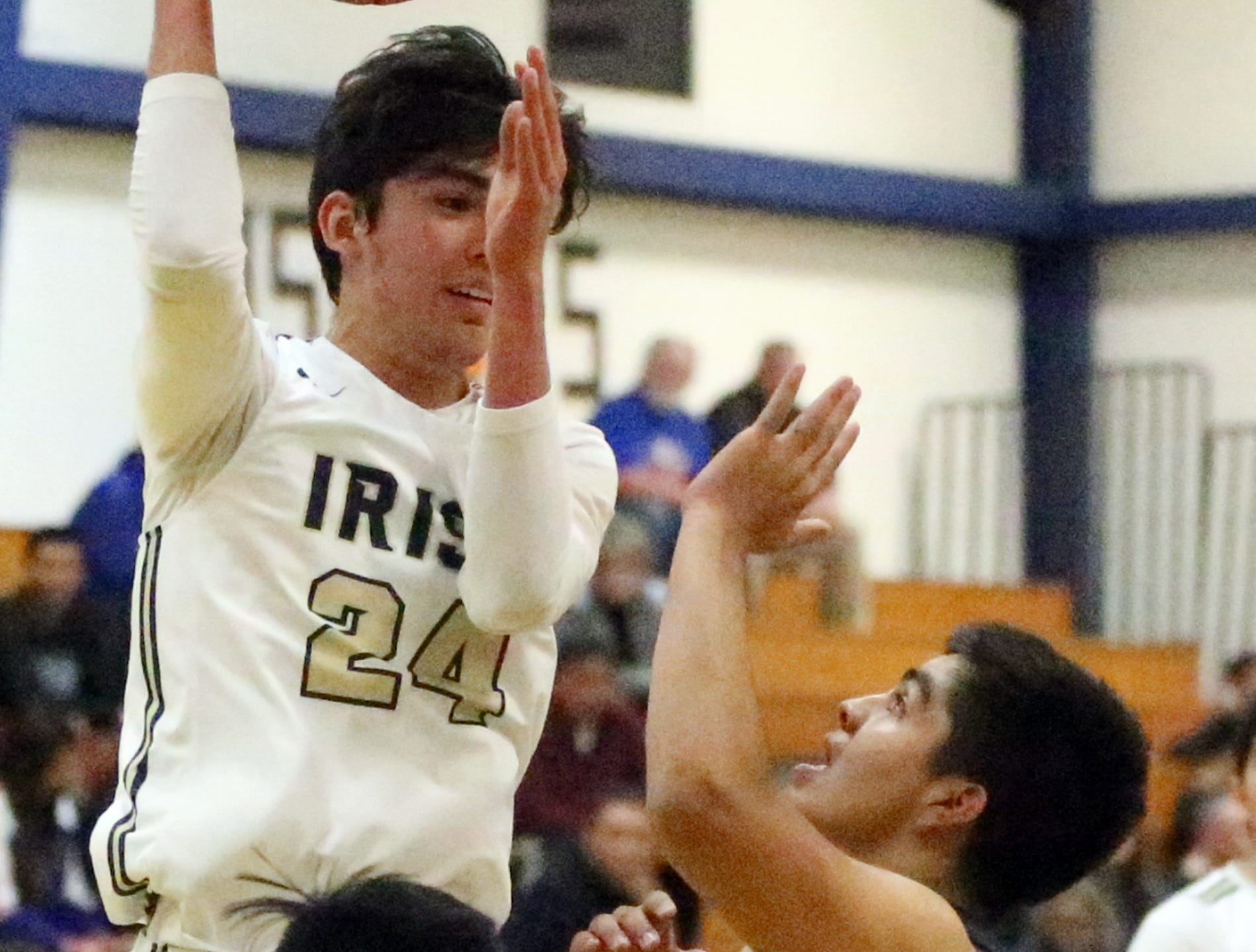Cathedral hosted Americas in prep boy's basketball action Tuesday night.