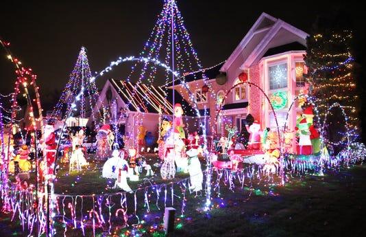 Christmas Lights File Photo