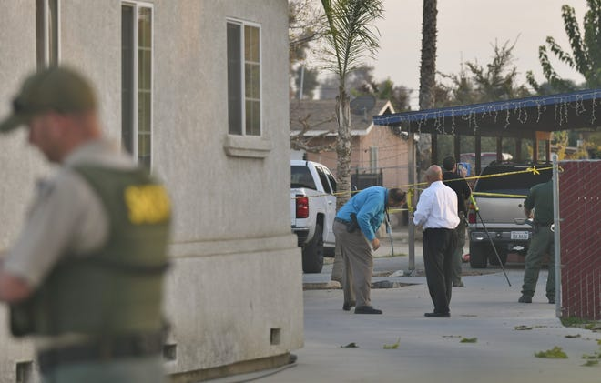 Violent crimes detectives are trying to piece together a Porterville homicide.