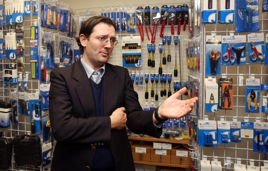 Eno Lelaj, CFO of Jonard Tools, talks about his company's need to find bigger space for the business while at their current location in Tuckahoe  Nov. 27, 2018.