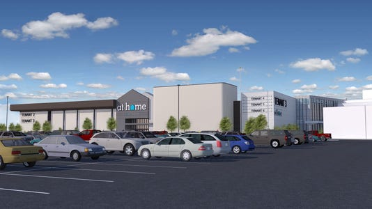 Future look of the current Macy's Nanuet building