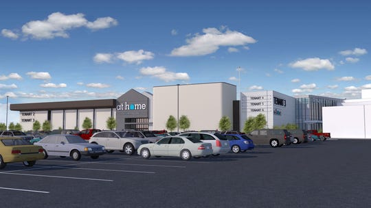 This is what it would look like after the Macy's Nanuet building is redeveloped.