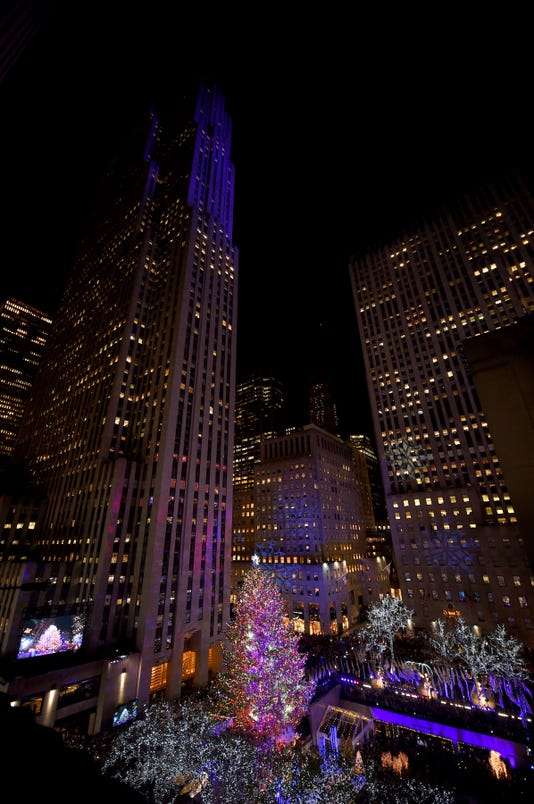 85th Rockefeller Center Christmas Tree Lighting Ceremony