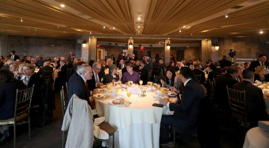 Several hundred people attended the annual breakfast of the Westchester Business Council at Tappan Hill in Tarrytown Nov. 28, 2018. Westchester County Executive George Latimer was the guest speaker at the breakfast.