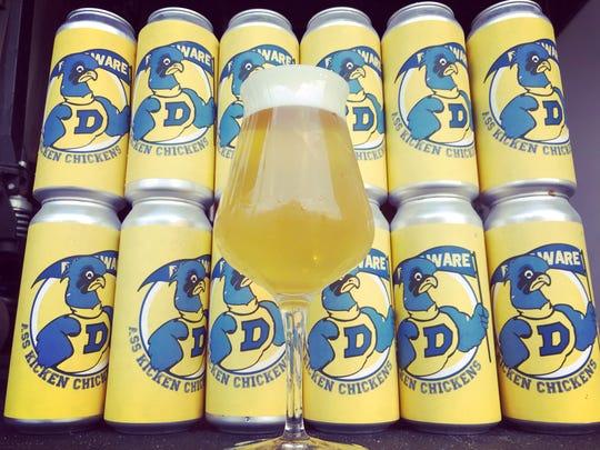 Dewey Beer Co.'s new Ass Kicken Chickens beer is a 5.2% ABV American pilsner.