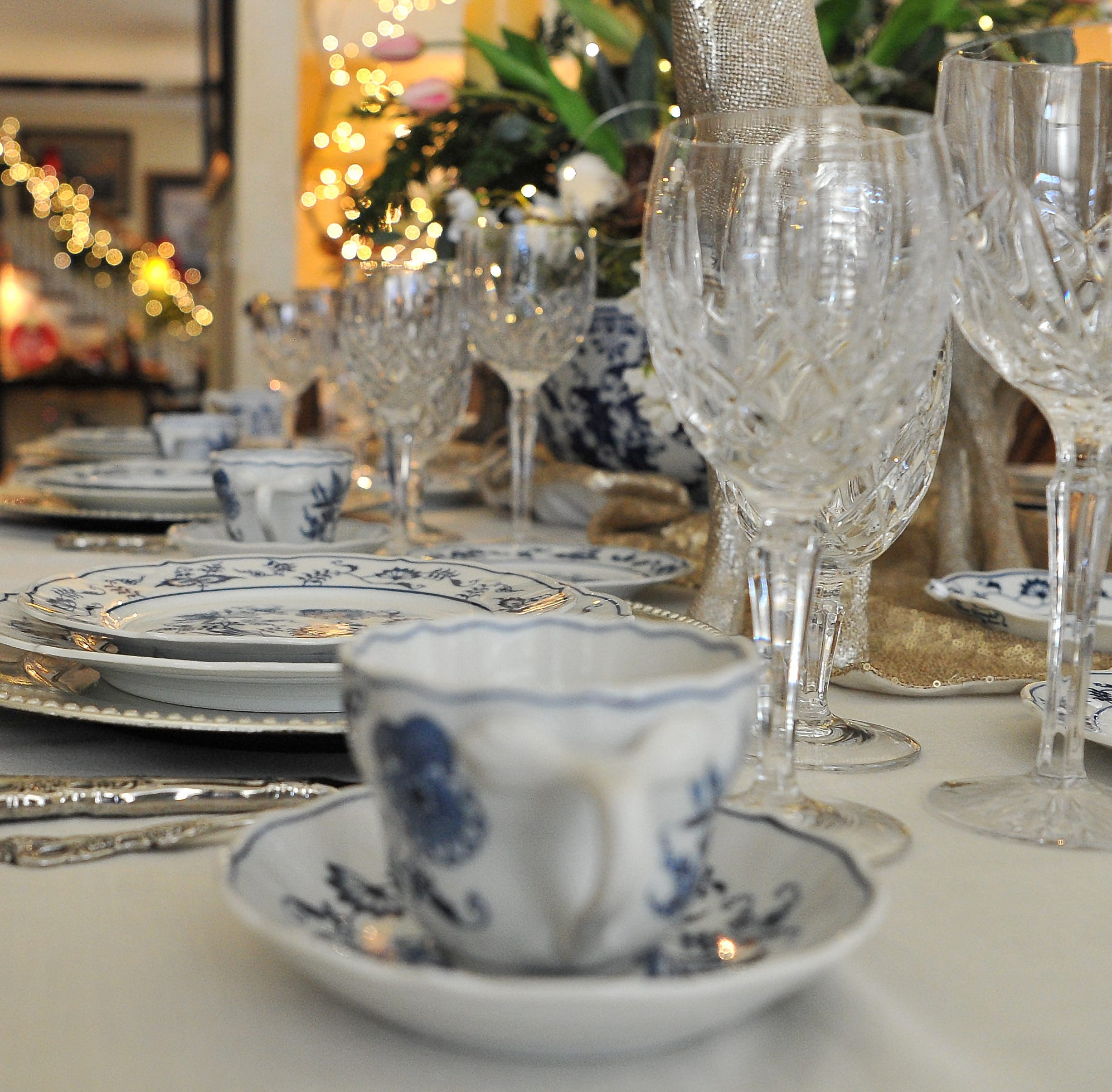 Peak inside the homes decorated in holiday finery