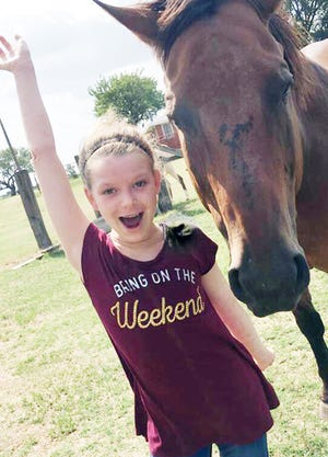 """Alexandra """"Lexi"""" Lynch, of Bowie, Texas, was killed Nov. 26, 2018, in a vehicle accident in Lewisville, Texas. The 13-year-old is remembered as a """"hard worker"""" who loved basketball, theater and sea turtles."""