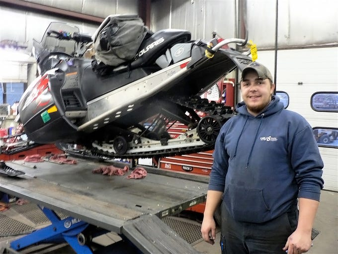 Yes, they repair snowmobiles.