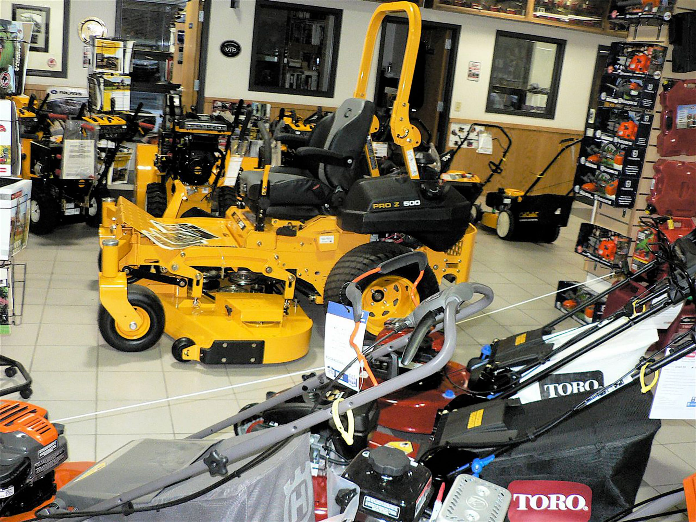 Consumer products like lawn mowers are becominga bigger part of the Statz business.