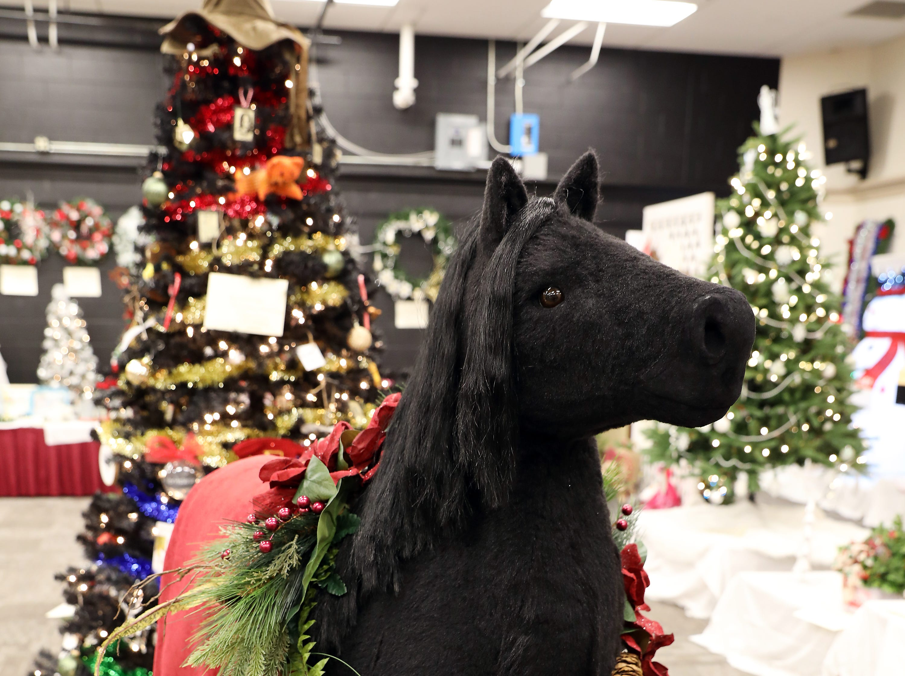 2035:00 PMQuality Care PartnersOtherThe Gift HorseThis thoroughbred is dressed in his black winter coat adorned in shades of Christmas Red2 tickets to the Columbus Blue Jackets game against the New Jersey Devils. Tuesday, January 15, 2019 at 7:00pm.