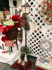 A Victorian lamp post was one of the items previously offered at the Festival of Trees auction.