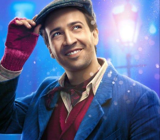 """Lin-Manuel Miranda plays Jack in """"Mary Poppins Returns."""""""