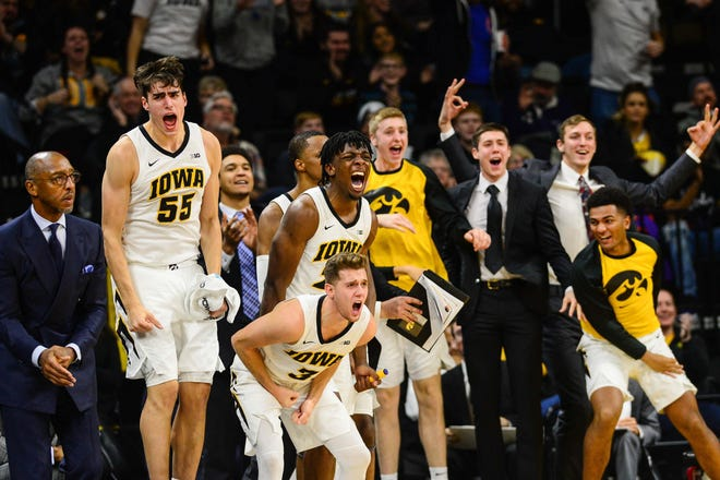 An Iowa radio broadcaster is in hot water after he was caught on-air ripping the basketball team.