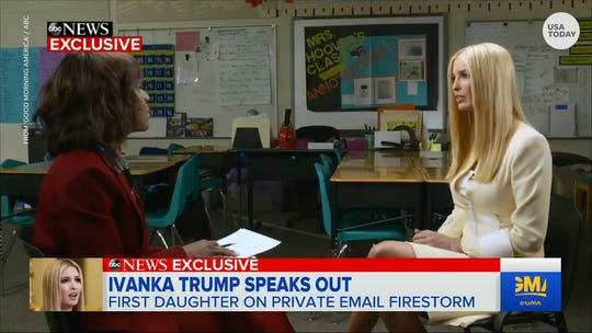 Ivanka Trump talks to GMA about private emails