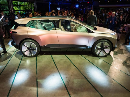 The BMW Vision iNEXT is unveiled.