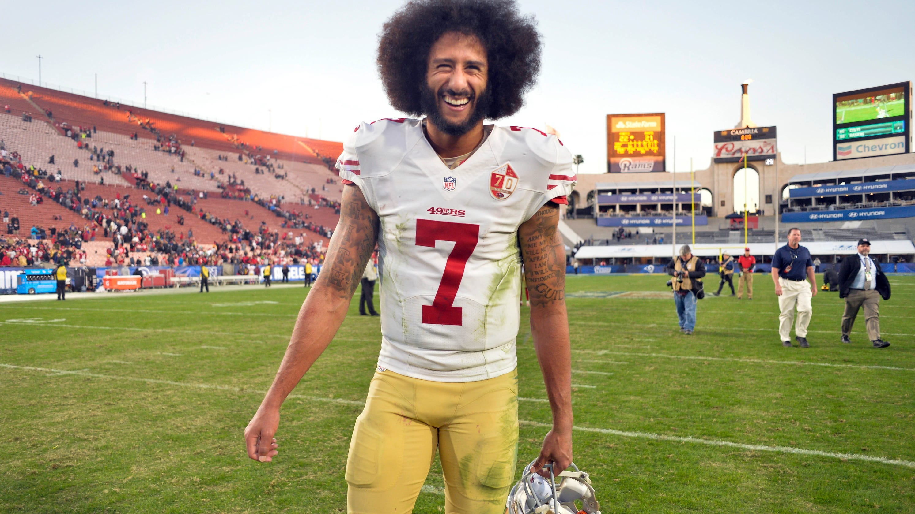 7a0f9e31e Don t ask if Colin Kaepernick is returning to NFL — your team probably  already passed on him