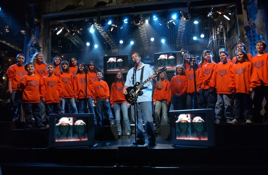 """Adam Sandler sings his third rendition of """"The Chanukah Song."""""""
