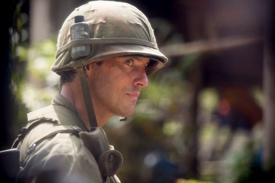 Jack (Milo Ventimiglia) accelerates his effort to rehabilitate his troubled brother, Nicky, during their service in Vietnam in Tuesday's mid-season finale of NBC's 'This Is Us.'