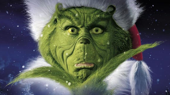 "Catch Jim Carrey in ""Dr Seuss ' How the Grinch Stole Christmas"" in Freeform's ""25 Days of Christmas"" line-up."