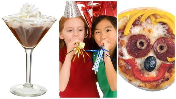 Find something to eat, drink, make and  play so New Year's Eve with kids in 2018 is memorable.