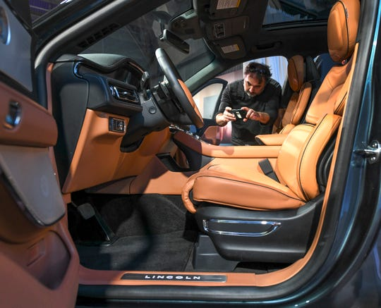 Comfort is one of the key features Lincoln touts in their new Aviator, a three-row luxury SUV.