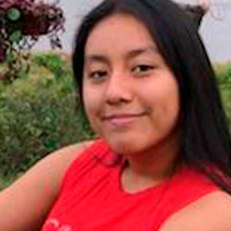 This is Hania Noelia Aguilar, the day before she went missing in Lumberton, N.C.