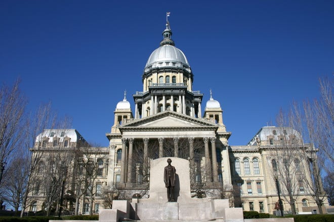 The Illinois State Capitol