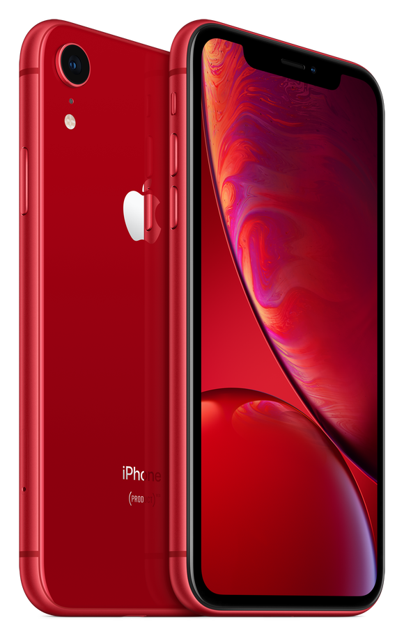 The (Product)RED iPhone XR.