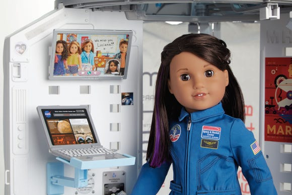 """American Girl Live"" is inspired by Luciana Vega, the 2018 Doll of the Year,  a STEM-loving 11-year-old."