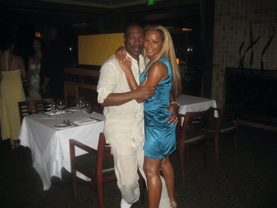 Melanie Brown with ex Eddie Murphy