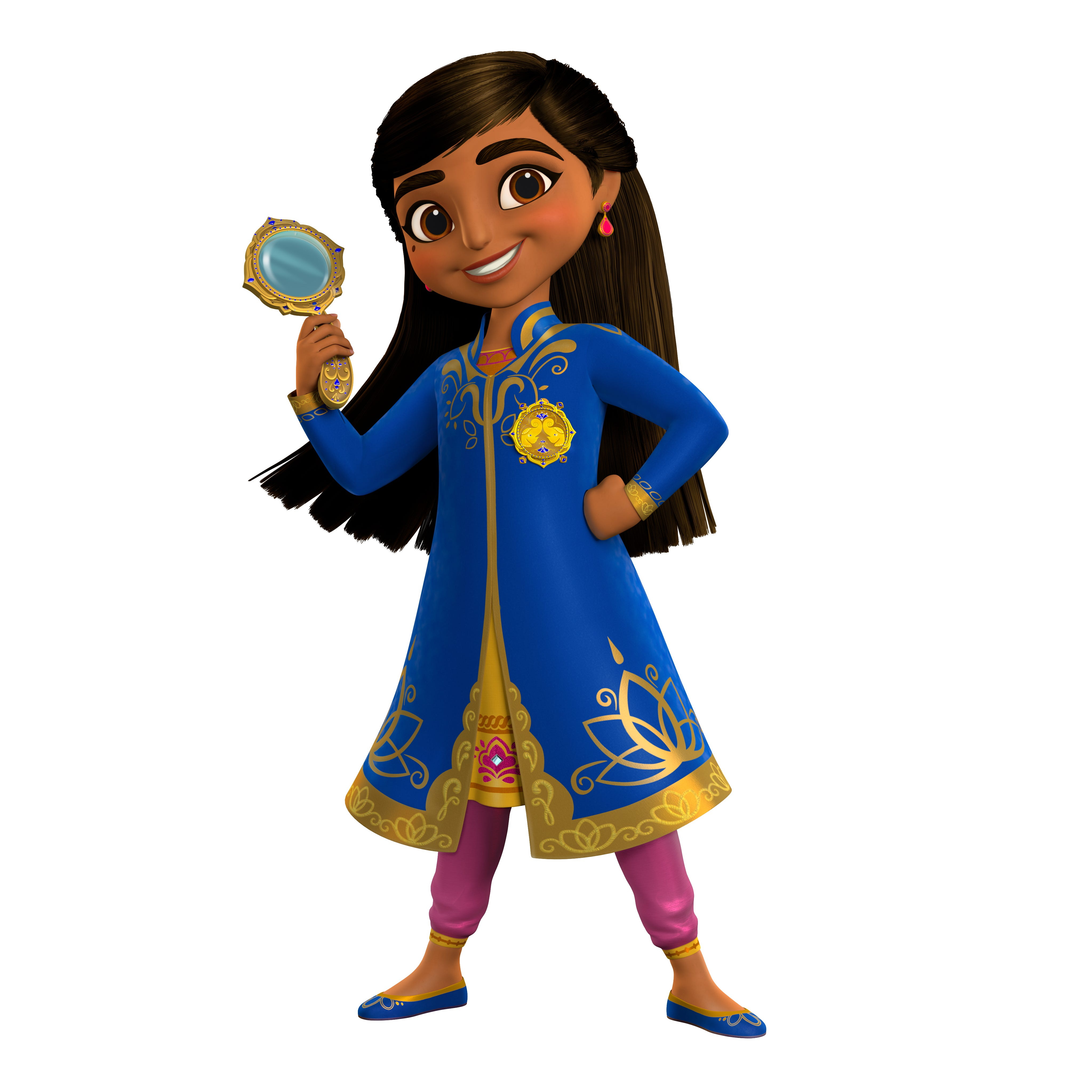 """Mira, Royal Detective,"" which will air on Disney Junior in 2020, will be Disney's first series inspired by India."