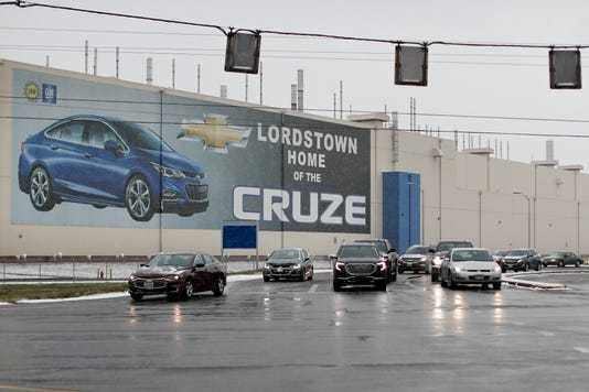 Ap General Motors Restructuring A Usa Oh