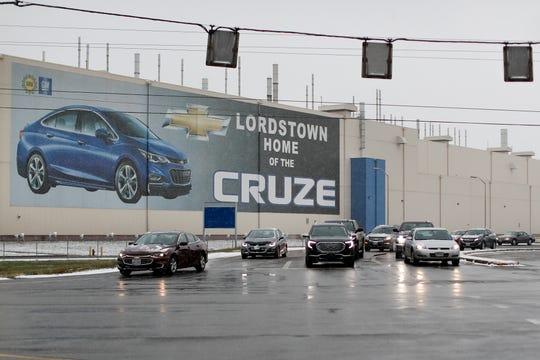 General Motors' Lordstown plant in Lordstown, Ohio, on Nov. 27, 2018.