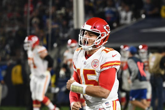 Nfl Kansas City Chiefs At Los Angeles Rams