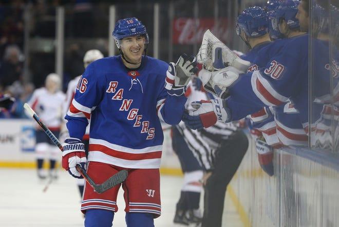 Nov. 16: The New York Rangers center Ryan Strome from the Edmonton Oilers.