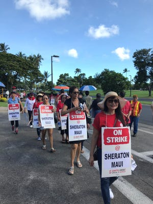 Marriott International is close to ending a strike with 2,700 employees in Hawaii.