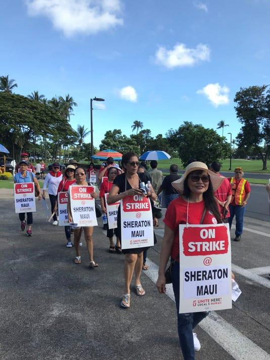 Marriott Strike 1