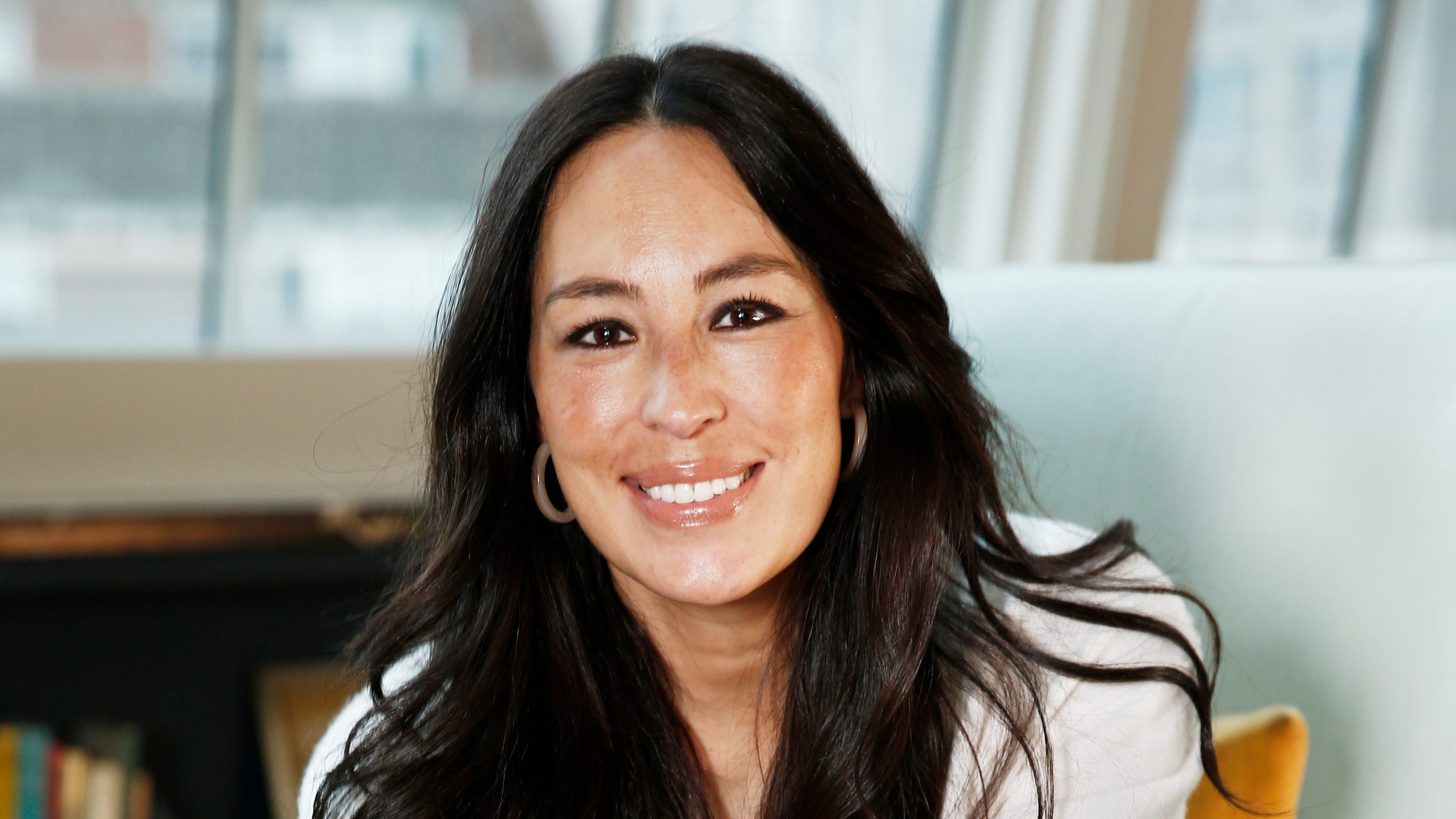 joanna gaines designs new clothing line before holidays. Black Bedroom Furniture Sets. Home Design Ideas